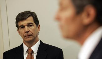 North Carolina Attorney General Roy Cooper in 2010. (Associated Press)