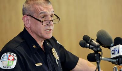 Charlottesville Police Chief Timothy Longo said that the purported rape victim declined to give a statement to investigators. (Associated Press)