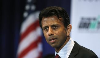 Bobby Jindal of Louisiana is among the Republican governors who will face a difficult decision because of FEMA's new guidelines. (Associated Press)