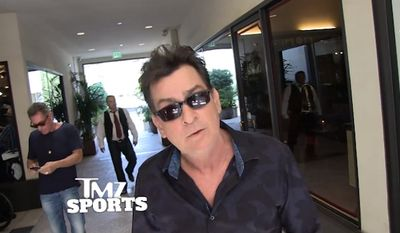 """Charlie Sheen has unleashed on President Obama for filling out a NCAA Final Four bracket, saying the commander-in-chief has no business """"wasting that kind of time"""" when the country is in crisis. (TMZ)"""