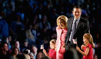 Sen. Ted Cruz, Texas Republican, formally initiated his candidacy, first by announcing on Twitter, and then going to evangelical Liberty University in Virginia to make a public televised speech. Mr. Cruz later did an hour on Sean Hannity's Fox News show. (Associated Press photographs)