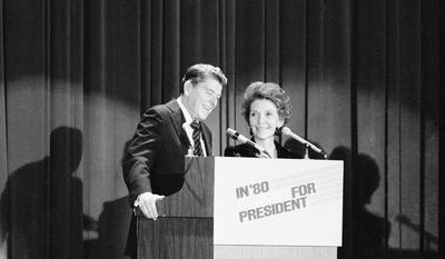 "In November 1979 Ronald Reagan unofficially announced his candidacy to millions of Americans in an interview with Tom Brokaw on NBC's ""Today"" show in New York before making the official announcement at a Waldorf Astoria dinner that night."
