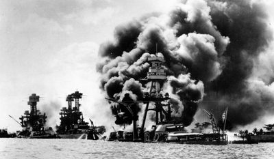 On Dec. 7, 1941, Japanese warplanes attacked Pearl Harbor in Hawaii on the orders of Emperor Hirohito, whose April 29 birthday is a national holiday in Japan. (Associated Press)