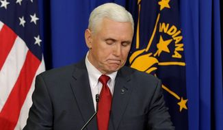 """Indiana Gov. Mike Pence responded Tuesday to the controversy over his recently signed RFRA bill, saying that it is up to the state legislature to present him a revised bill by week's end. At the same time, the governor says he """"appreciates"""" the outcry. (associated press)"""