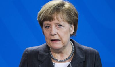 A survey shows that business leaders feel politically alienated under the Angela Merkel-led governing coalition, without a champion in either of Germany's two main parties: the Christian Democrats and the Social Democrats. (Associated Press)
