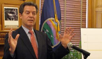 Kansas Gov. Sam Brownback. (AP Photo/John Hanna) ** FILE **