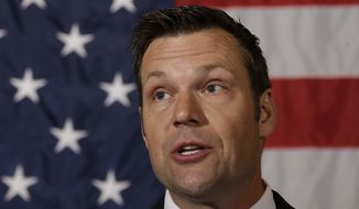Kansas Secretary of State Kris W. Kobach, the lawyer for Mississippi and the agents, said the plaintiffs will either ask the appeals court to reconsider or else take their fight to the Supreme Court. (Associated Press)
