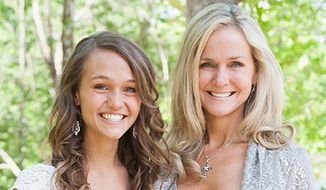 Rebecca Hagelin and her daughter Kristin Carey.