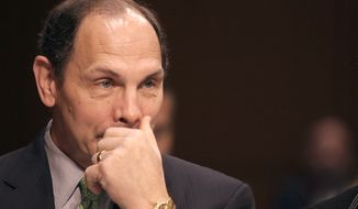 VA Secretary Robert McDonald, who took over in July amid a scandal over delayed care and phony waiting lists at VA hospitals, has pledged to stop the agency's pattern of punishing whistleblowers. (Associated Press) ** FILE **