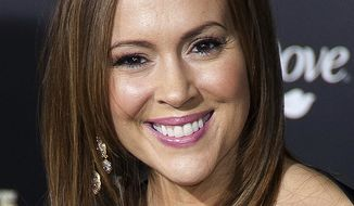 American actress Alyssa Milano went into a Twitter rage Thursday morning against Heathrow Airport in London for confiscating her pumped breast milk. (Wikipedia)