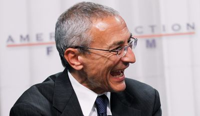 John Podesta, now chairman of Hillary Clinton for America, is on the team rebranding the Democratic Party's new presidential candidate. (Associated Press)