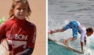 Teen surfing champion Elio Canestri was reportedly killed Sunday morning in a shark attack off the coast of the Indian ocean island of Reunion. (Instagram/floresjeremy)