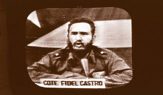 Fidel Castro, 1962. Associated Press photograph