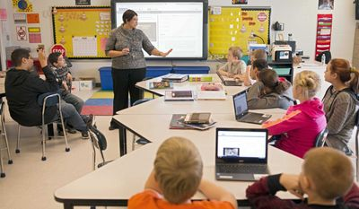 A bill under consideration of the Alaska Senate would let parents opt students out of certain requirements, including testing, and require parental consent for students to participate in sex education. (AP Photo/Ty Wright)
