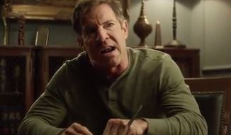 "The ""leaked"" video circulated by numerous media outlets this week purporting to show Dennis Quaid having an on-set meltdown was officially a prank by Funny or Die. (Funny or Die)"