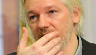 WikiLeaks founder Julian Assange has said he fears Sweden will extradite him to the United States, where he could face the death penalty if charged and convicted of leaking U.S. government secrets on WikiLeaks. (Associated Press)