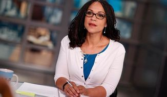 The Internal Revenue Service has placed a tax lien on MSNBC weekend host Melissa Harris-Perry and her husband, James Perry, for owing roughly $70,000 in delinquent taxes, the Winston-Salem Journal reported in 2015. (Facebook/MSNBC/Charles Ommanney) ** FILE **