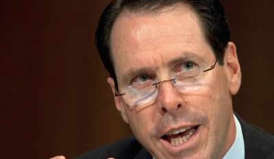 Randall Stephenson, AT&T chairman and CEO, was recognized by America's Promise Alliance for an educational program emphasizing student success. (Associated Press)