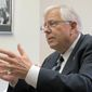"""""""Our work today and in the coming weeks will show hardworking taxpayers that Congress is committed to a government that's more effective and more accountable,"""" said Sen. Mike Enzi, Wyoming Republican. (Associated Press)"""