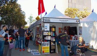 LA Times book festival April 2015 