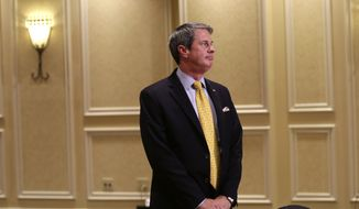 Sen David Vitter, Louisiana Republican (Associated Press) ** FILE **