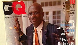 'Right Side Forum' host Armstrong Williams has both political and fashion sense. (GQ Magazine)