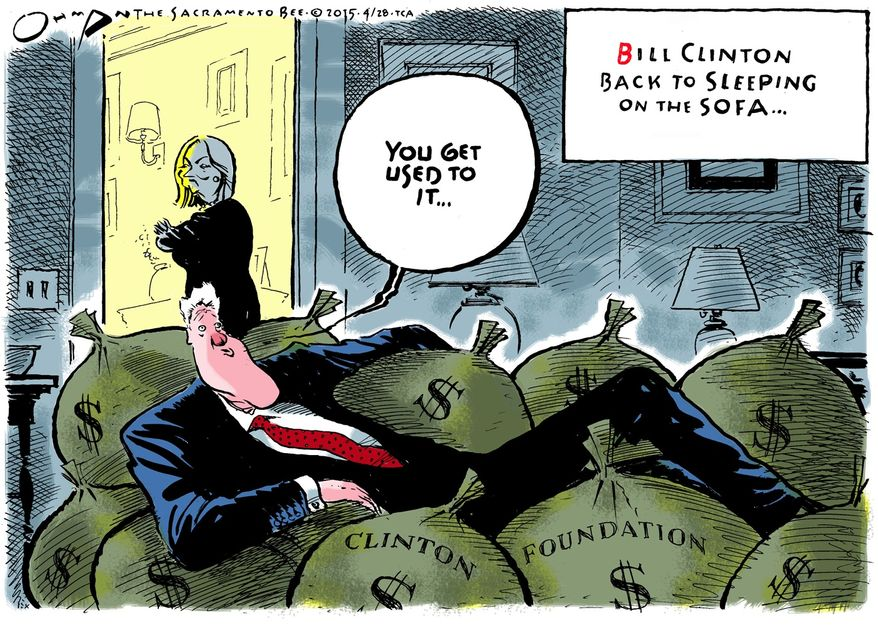 Illustration by Jack Ohman of the Tribune Media Services