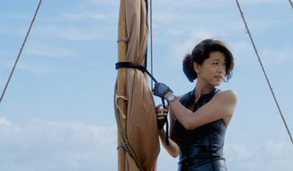 """Grace Park said that she thinks it is important to keep some realism in her portrayal of the young cop Kono Kalakaua on the CBS show """"Hawaii Five-0"""" who has joined the major crime-fighting task force fresh out of the police academy. (CBS)"""
