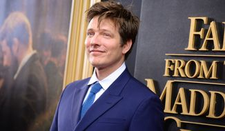 "Director Thomas Vinterberg attends the premiere for ""Far From The Madding Crowd"" at the Paris Theatre on Monday, April, 27, 2015, in New York. (Photo by Scott Roth/Invision/AP)"
