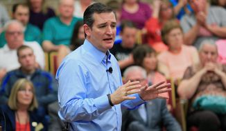 Presidential candidate Sen. Ted Cruz, Texas Republican, is winning strong reviews from his party's insiders who say he's managed to tap into the anti-establishment sentiment of primary voters. His aspirations hinge on the ability to lay claim to being the conservative alternative. (Associated Press)