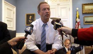 The racial unrest in Baltimore only threatened to make the uphill climb steeper for 2016 hopeful Martin O'Malley. Political insiders said that it even could spell the end of his presidential ambitions. (Associated Press)