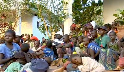 An internal United Nations report accuses French soldiers of sexually abusing children in the Central African Republic. (Image: CNN screenshot)