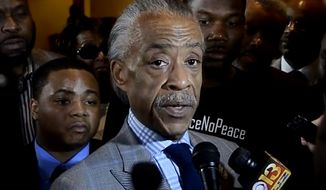 "Al Sharpton on Thursday called for the federal government to step in and ""take over policing in this country"" so that bad officers can be held accountable. (Baltimore Sun)"