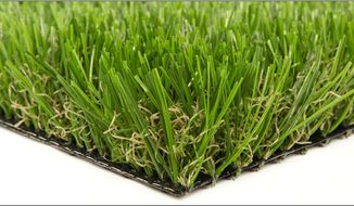 Synthetic grass looks much like the real thing, and saves a lot of water.  (Synthetic grass Warehouse)