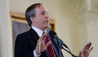 """We will continue to fight for the rule of law by asking the district court to carefully review the administration's withheld documents and hold the DOJ accountable so they provide reliable information about this case,"" said Texas Attorney General Ken Paxton. (Associated Press)"