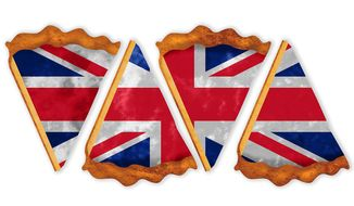 British election pie illustration by Greg Groesch/The Washington Times