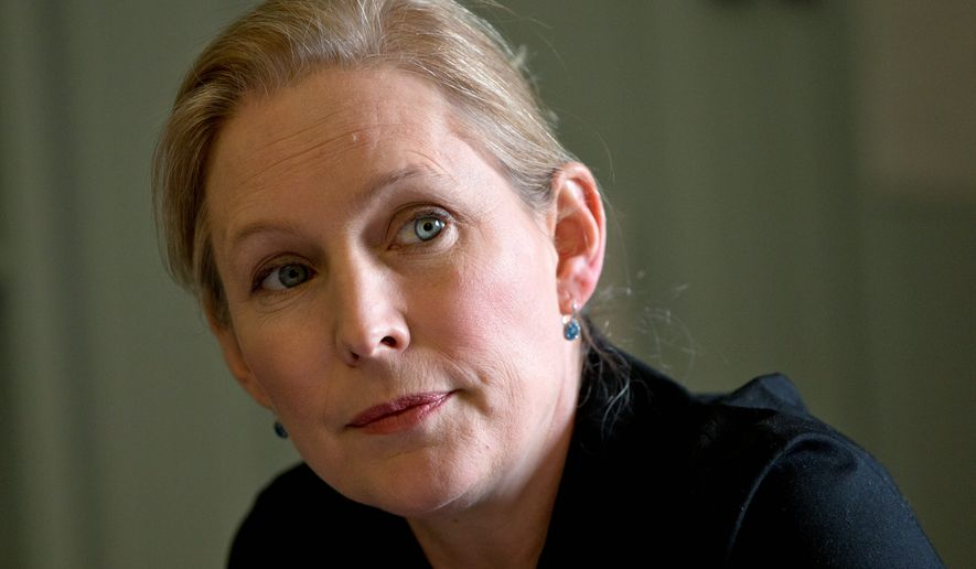 Sen Kirsten Gillibrand New York Democrat Said In A