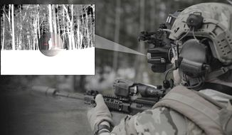 The U.S. Army has awarded a contract to a U.S. subsidiary of BAE Systems to create a headset that fuses night vision and thermal imaging technology. (Image: BAE Systems)