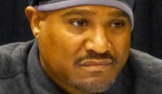 """Actor Seth Gilliam, most recently known for his role as Rev. Gabriel Stokes on AMC's """"The Walking Dead,"""" was arrested early Sunday in Peachtree City, Georgia. (Wikipedia)"""