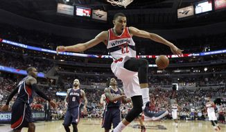 Washington Wizards forward Otto Porter Jr. is viewed by the organization and new coach Scott Brooks as a vital piece of the franchise going forward. (AP Photo/Alex Brandon)