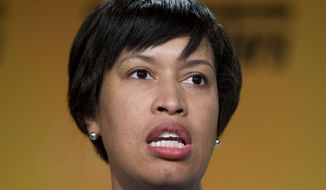 D.C. Mayor Muriel Bowser (AP Photo/Pablo Martinez Monsivais)