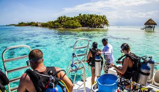 Belize is a top diving spot in the Caribbean, especially with the Great Blue Hole to explore and the world's second-largest barrier reef nearby.