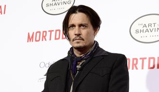 Australian quarantine authorities have ordered Hollywood star Johnny Depp to fly his pet dogs Pistol and Boo out the country by Saturday or they will be put down. (Photo by Dan Steinberg/Invision/AP, File)