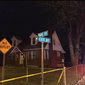 Prince George's County Police investigate a Tuesday night shooting involving five male victims in the 4700 block of Pard Road in Capitol Heights, Maryland, on May 12.