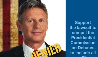 The Libertarian Party has launched a lawsuit against the Presidential Debate Commission to gain access for third party candidates at the official 2016 presidential debates (Our American Initiative)