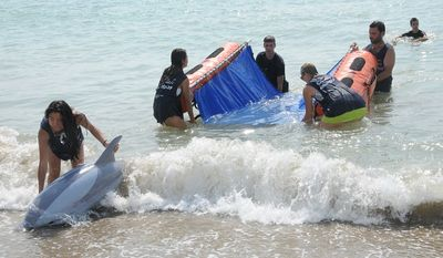 Crystal Cruises passengers can try their hand at rescuing dolphins at a dolphin rehabilitation center in Barcelona, Spain.