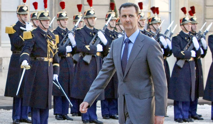 There are numerous reports of Syrian President Bashar Assad using chlorine bombs against rebel forces over the past several weeks. (Associated Press)