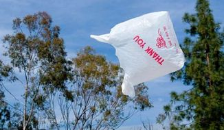 Democratic sponsors of the House bill say the best solution to excessive plastic bag trash is to place a nominal fee on single-use carryout bags.