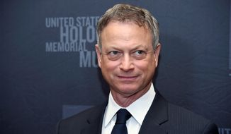 "On a mission: Gary Sinise, in a heavy understatement, says ""it's a busy time"" for his efforts to support active-duty service members and military veterans. (Associated Press)"
