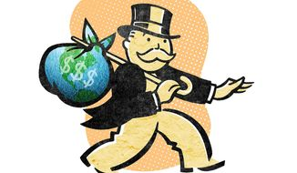 Export-Import Bank Providing Corporate Welfare Illustration by Greg Groesch/The Washington Times